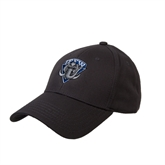 Charcoal Heavyweight Twill Pro Style Hat-IPFW Mastodon Shield