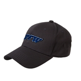 Charcoal Heavyweight Twill Pro Style Hat-IPFW