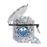 Kissable Creations Round Canister-IPFW Mastodon Shield