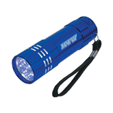 Industrial Triple LED Blue Flashlight-IPFW Engraved