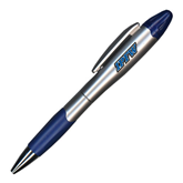 Silver/Blue Blossom Pen/Highlighter-IPFW