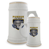 Full Color Decorative Ceramic Mug 22oz-Primary Athletic Logo