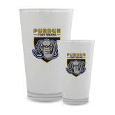 Full Color Glass 17oz-Primary Athletic Logo