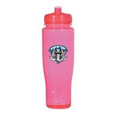 Spectrum Pink Sport Bottle 28oz-IPFW Mastodon Shield