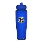 Spectrum Blue Sport Bottle 28oz-IPFW Mastodon Shield