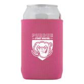 Neoprene Hot Pink Can Holder-Primary Athletic Logo