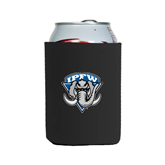 Collapsible Black Can Holder-IPFW Mastodon Shield