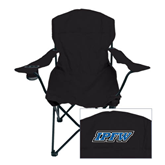 Deluxe Black Captains Chair-IPFW