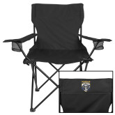 Deluxe Black Captains Chair-Primary Athletic Logo