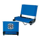 Stadium Chair Royal-IPFW Mastodon Shield