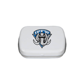 White Rectangular Peppermint Tin-IPFW Mastodon Shield