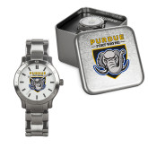Mens Stainless Steel Fashion Watch-Primary Athletic Logo