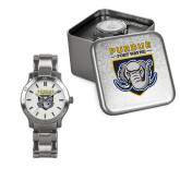 Ladies Stainless Steel Fashion Watch-Primary Athletic Logo