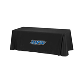 Black 6 foot Table Throw-IPFW