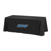Black 8 foot Table Throw-IPFW