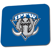 Full Color Mousepad-IPFW Mastodon Shield