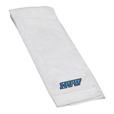 White Golf Towel-IPFW