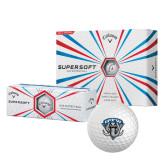 Callaway Supersoft Golf Balls 12/pkg-IPFW Mastodon Shield