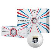 Callaway Supersoft Golf Balls 12/pkg-Primary Athletic Logo