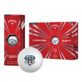 Callaway Chrome Soft Golf Balls 12/pkg-IPFW Mastodon Shield