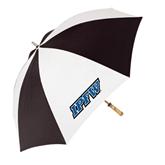62 Inch Black/White Umbrella-IPFW