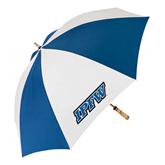62 Inch Royal/White Umbrella-IPFW