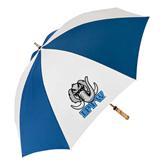 62 Inch Royal/White Umbrella-Mastodon with IPFW