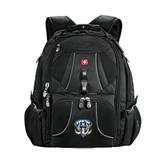 Wenger Swiss Army Mega Black Compu Backpack-IPFW Mastodon Shield