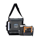 Impact Vertical Black Computer Messenger Bag-IPFW Mastodon Shield