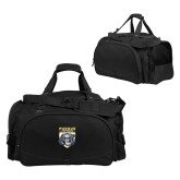 Challenger Team Black Sport Bag-Primary Athletic Logo