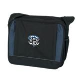 Excel Black/Blue Saddle Brief-IPFW Mastodon Shield