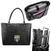Sophia Checkpoint Friendly Black Compu Tote-Primary Athletic Logo