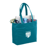 Fine Society Teal Computer Tote-Primary Athletic Logo