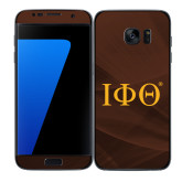 Samsung Galaxy S7 Edge Skin-Greek Letters