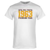 White T Shirt-Founding Year