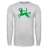 White Long Sleeve T Shirt-Centar