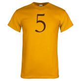 Gold T Shirt-5