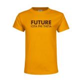 Youth Gold T Shirt-Future Iota Phi Theta