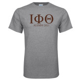 Grey T Shirt-Greek Letters Alumni Year