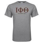 Grey T Shirt-Greek Letters Alumni Year