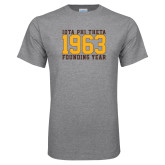 Grey T Shirt-Founding Year