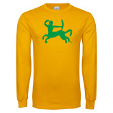 Gold Long Sleeve T Shirt-Centar