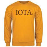 Gold Fleece Crew-IOTA - Small Caps