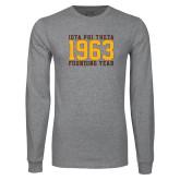 Grey Long Sleeve T Shirt-Founding Year