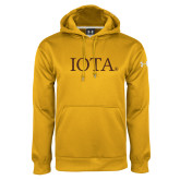 Under Armour Gold Performance Sweats Team Hoodie-IOTA - Small Caps
