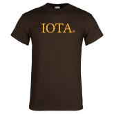 Brown T Shirt-IOTA - Small Caps