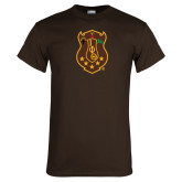 Brown T Shirt-Crest