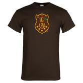 Brown T Shirt-Crest