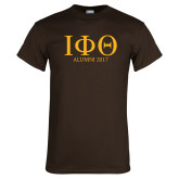 Brown T Shirt-Greek Letters Alumni Year