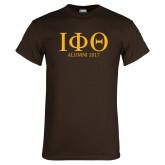 Brown T Shirt-Greek Letters Alumni Year